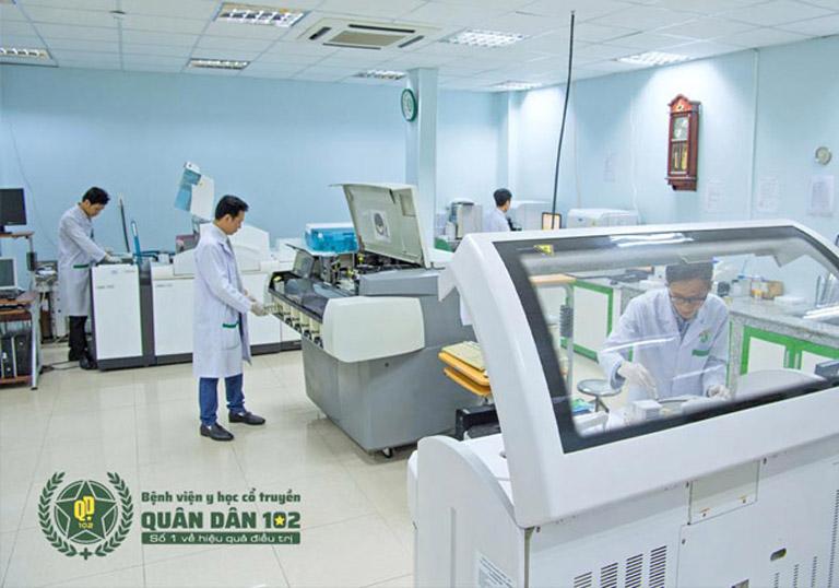 Bệnh viện trang bị nhiều hệ thống máy móc y tế hiện đại
