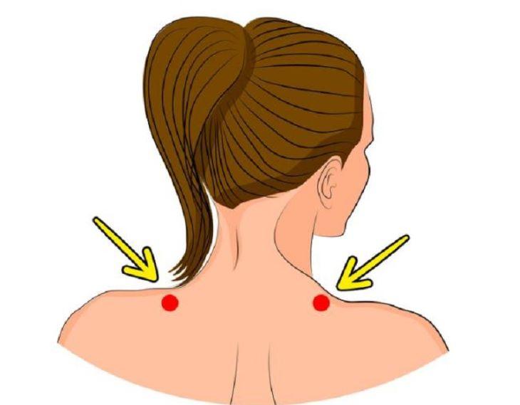 Bấm huyệt kiên tỉnh trị nhiều bệnh ở lưng và cổ vai gáy