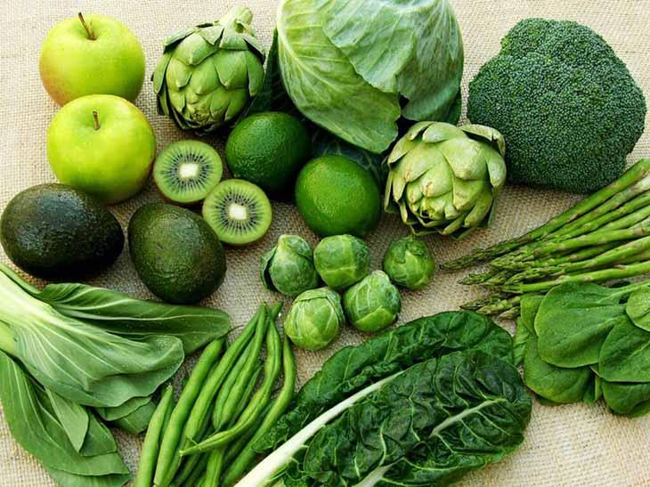 Những loại rau màu xanh đậm rất giàu nitrat, tốt cho sức khỏe quý ông