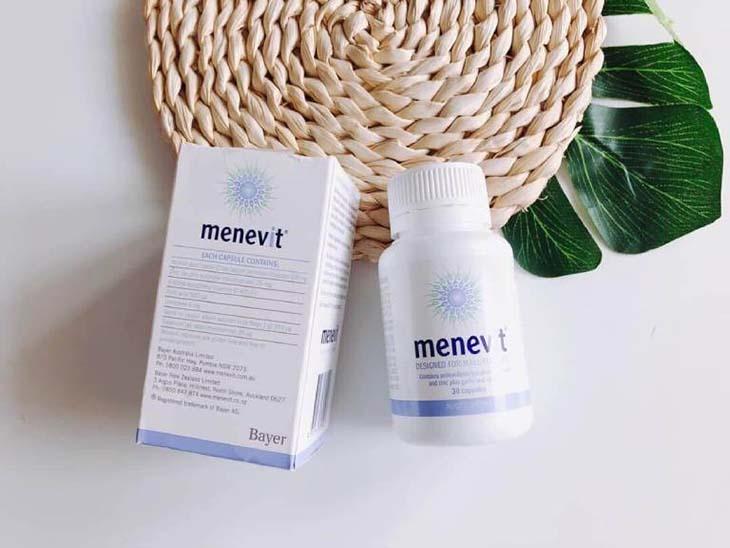 Menevit - thuốc chữa liệt dương của Mỹ