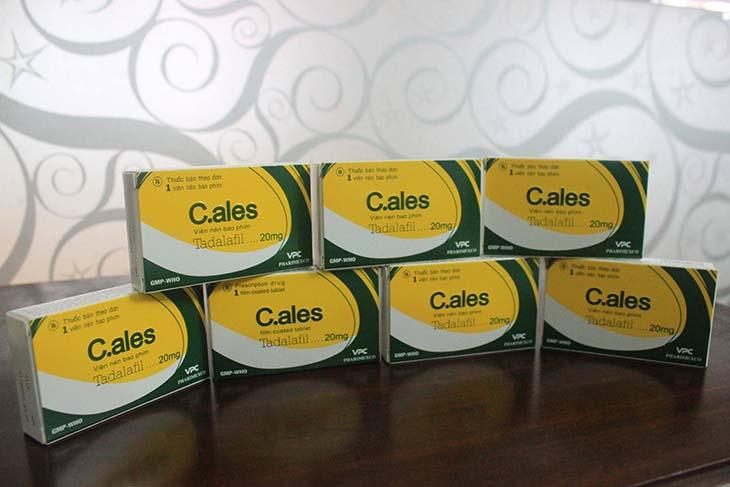 C.ales - Một trong những loại thuốc điều trị rối loạn cương dương tốt nhất