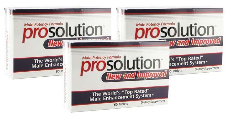 Thuốc chữa rối loạn cương dương ở nam giới Prosolution được đánh giá cao