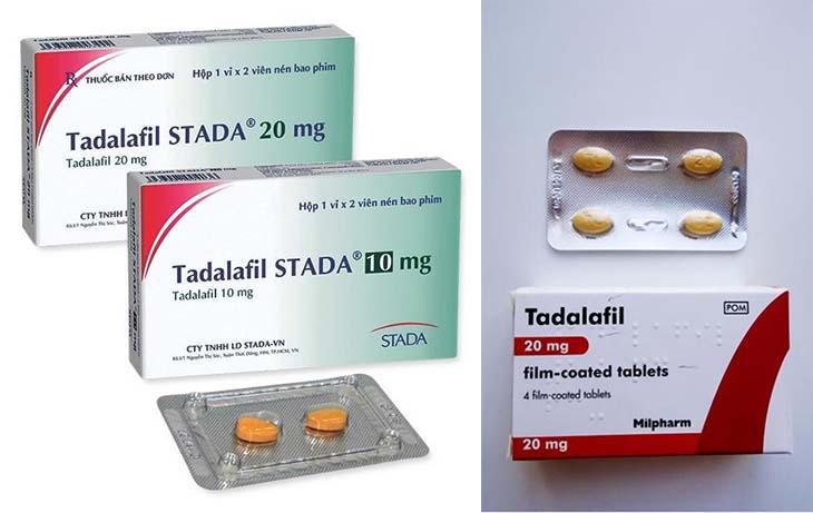 Thuốc chữa rối loạn cương dương ở nam giới Tadalafil