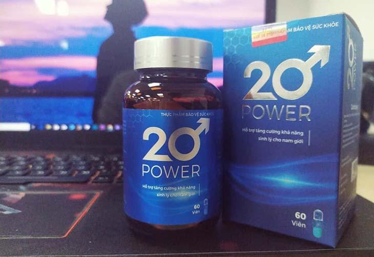 Bị xuất tinh sớm nên dùng thuốc gì? - 20 Power