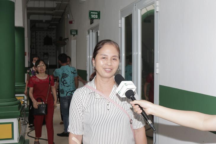 Phỏng vấn bệnh nhân tại CTCP Bệnh viện Quân dân 102