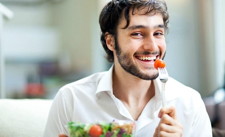Chế độ dinh dưỡng phù hợp là điều cần thiết giúp phái mạnh lấy lại bản lĩnh sinh lý