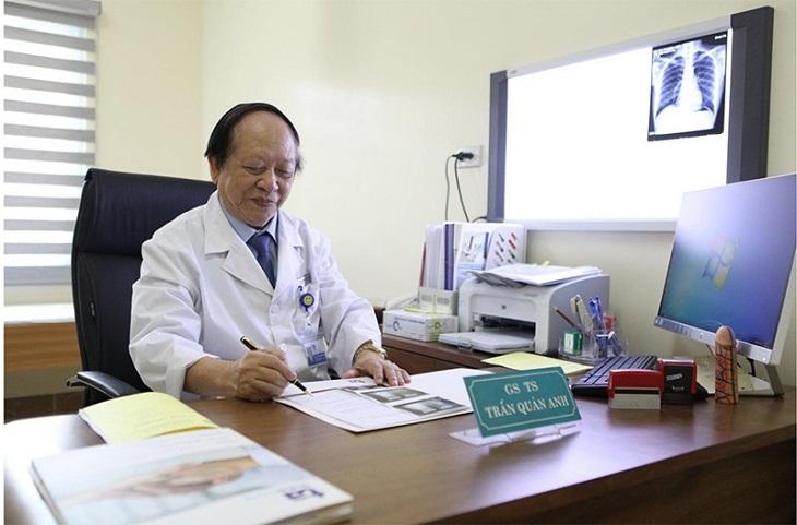 Bác sĩ Trần Quán Anh với hơn 40 năm kinh nghiệm trong điều trị sinh lý yếu