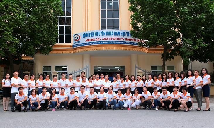 Bệnh viện Nam học và hiếm muộn Hà Nội là đáp án cho thắc mắc: Chữa yếu sinh lý ở đâu thì tốt