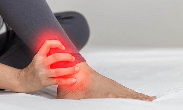 Huyệt vị nằm trên chân nên giúp điều trị các bệnh đau khớp chân rất tốt