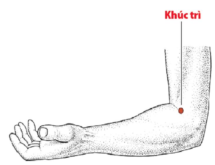 Huyệt khúc trì có nhiều vai trò quan trọng với cơ thể