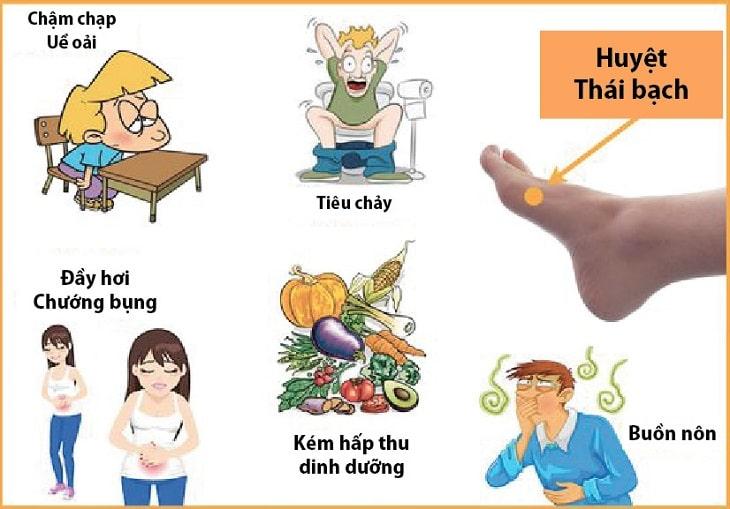 Huyệt Thái Bạch có rất nhiều tác dụng cho con người
