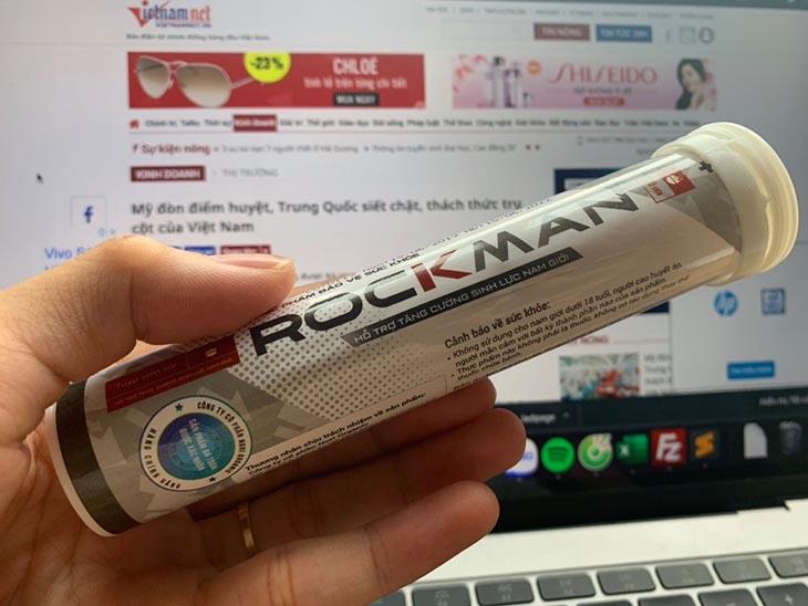 Rockman là sản phẩm tăng cường sinh lý được nhiều quý ông tin tưởng