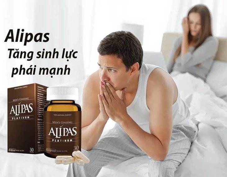 Sâm Alipas giúp nam giới mạnh mẽ hơn, tự tin hơn
