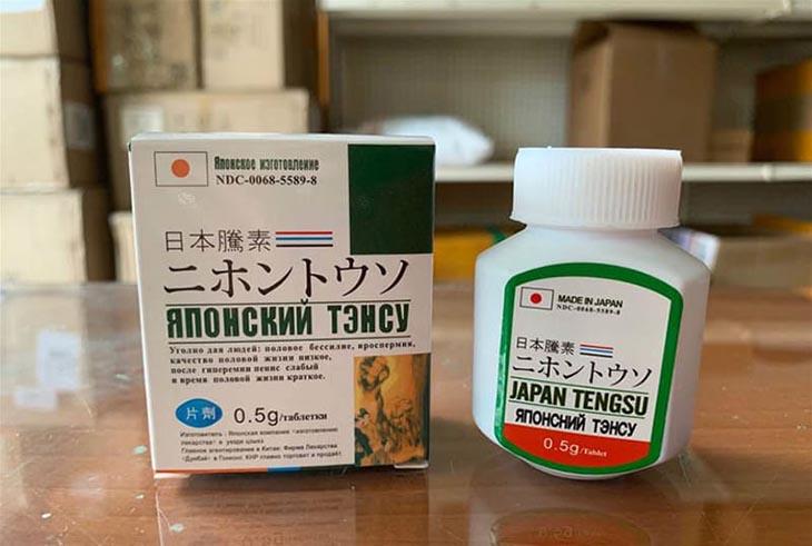 Thuốc Japan Tengsu - thuốc cho người yếu sinh lý