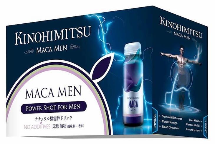 Thuốc tăng cường sinh lý nam của Nhật Kinohimitsu Maca Men