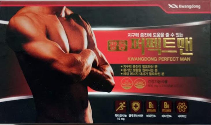 Thuốc hỗ trợ sinh lý Kwang Perfect Man