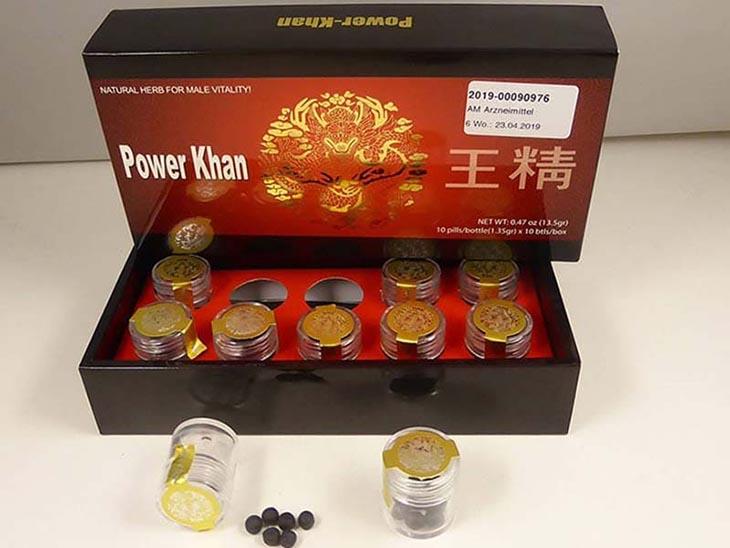 Thuốc tăng cường sinh lý Power Khan Hàn Quốc