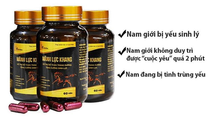Mãnh Lực Khang là một trong các loại thuốc tăng cường sinh lý được tiêu dùng nhiều nhất hiện nay