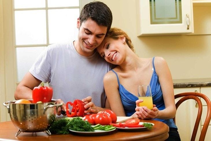 Chế độ dinh dưỡng đóng vai trò quan trọng trong điều trị sinh lý yếu ở nam giới