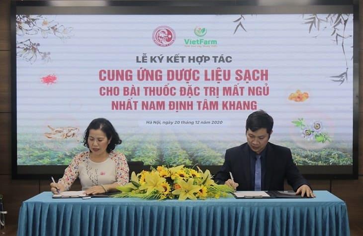 100% dược liệu của bài thuốc Nhất Nam Định Tâm Khang đều được cung ứng từ đơn vị Vietfarm - Địa chỉ số 1 trong việc nuôi trồng và cung ứng dược liệu sạch