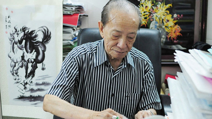 Giáo Sư Tài Thu cả cuộc đời cống hiến cho nền YHCT
