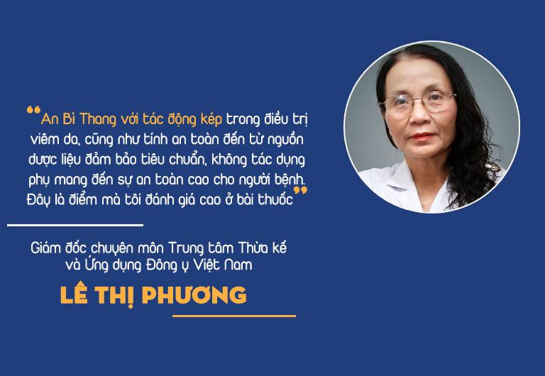Bác sĩ Lê Phương