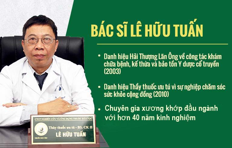 Thầy thuốc ưu tú, bác sĩ Lê Hữu Tuấn được vinh danh bằng nhiều danh hiệu cao quý