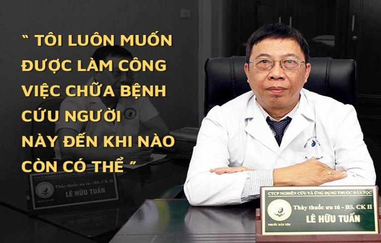 Bác Tuấn lựa chọn Trung tâm Thuốc dân tộc làm đơn vị công tác sau khi nghỉ hưu