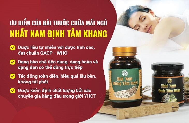 Bài thuốc Nhất Nam Định Tâm Khang