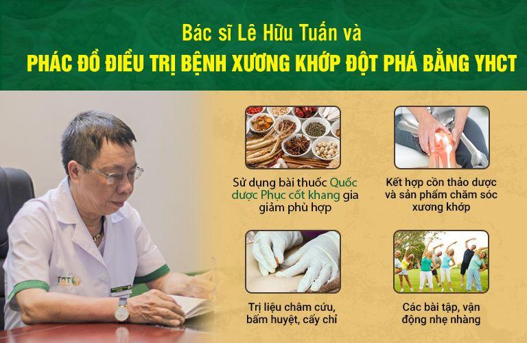Bác sĩ Lê Hữu Tuấn tư vấn phác đồ điều trị bệnh xương khớp chuyên sâu và hoàn chỉnh