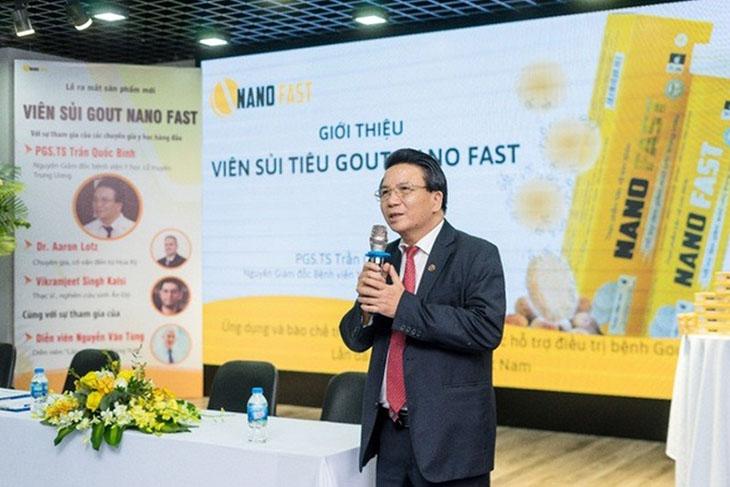 PGS.TS Trần Quốc Bình là tấm gương sáng của nhiều thế hệ sinh viên ngành y