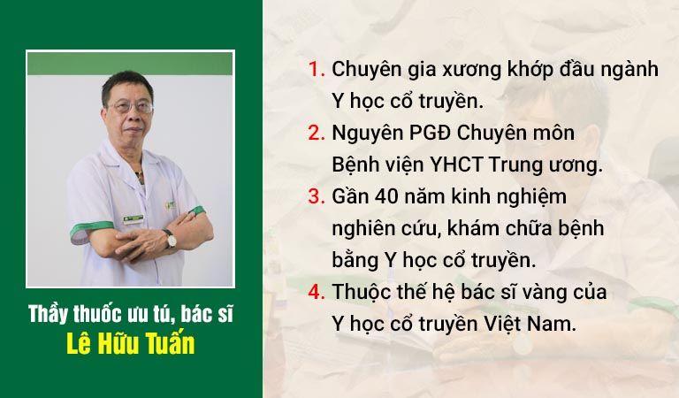 Bác sĩ Lê Hữu Tuấn - Vị thầy thuốc vừa có tâm vừa có tầm