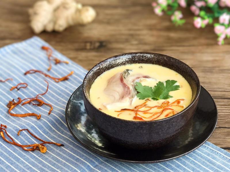Cháo trùng thảo là món ăn phù hợp với người cao tuổi