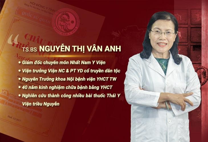 Tiến sĩ, Bác sĩ Nguyễn Thị Vân Anh dành cả tuổi thanh xuân cho y học cổ truyền