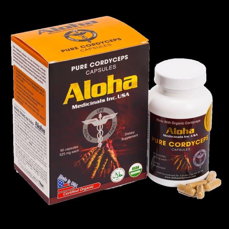 Bao bì sản phẩm Aloha đang bán trên thị trường