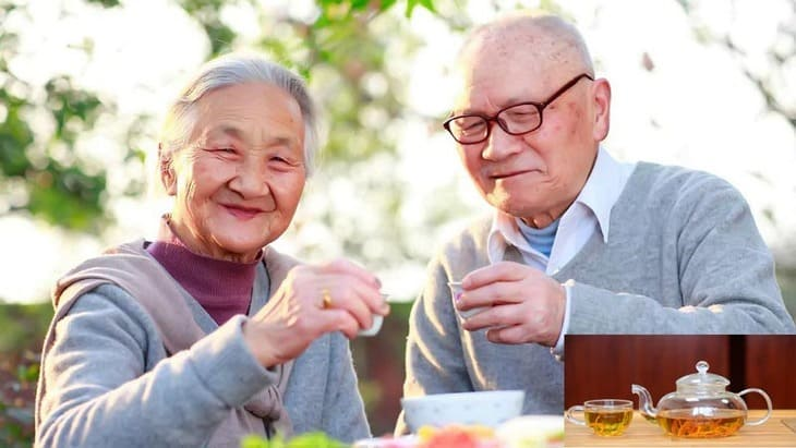 Đông trùng hạ thảo giúp tăng cường sức khỏe cho người cao tuổi