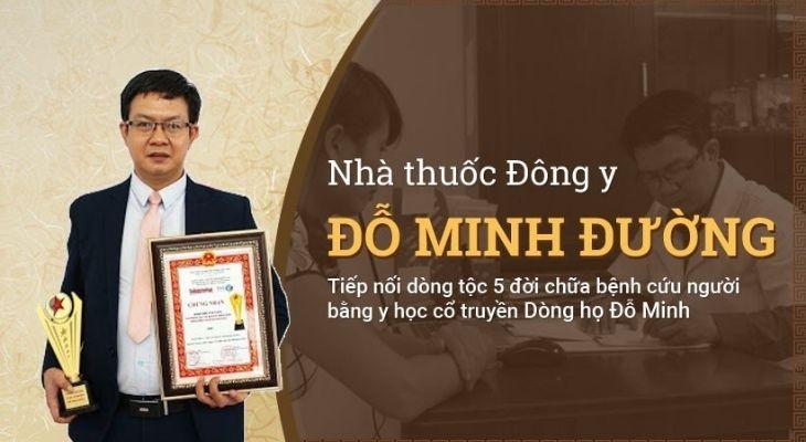 Nhà thuốc Đỗ Minh Đường đã nhận được chỗ đứng vững chắc trong lòng người bệnh