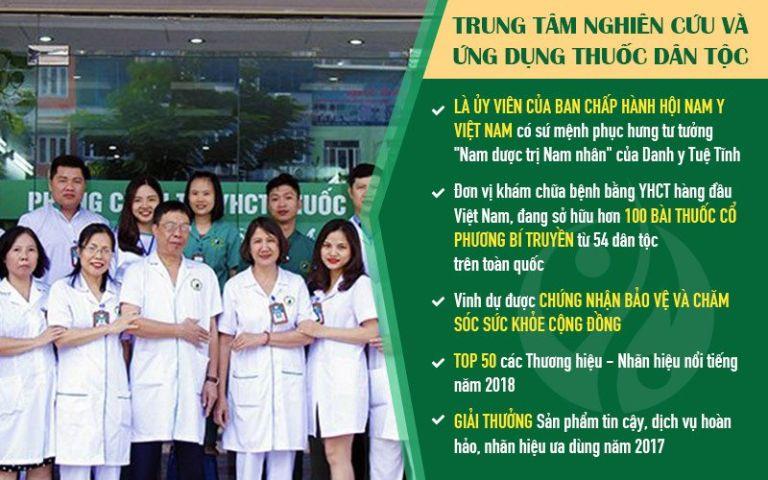 Trung tâm Thuốc dân tộc đơn vị khám chữa YHCT chất lượng cao