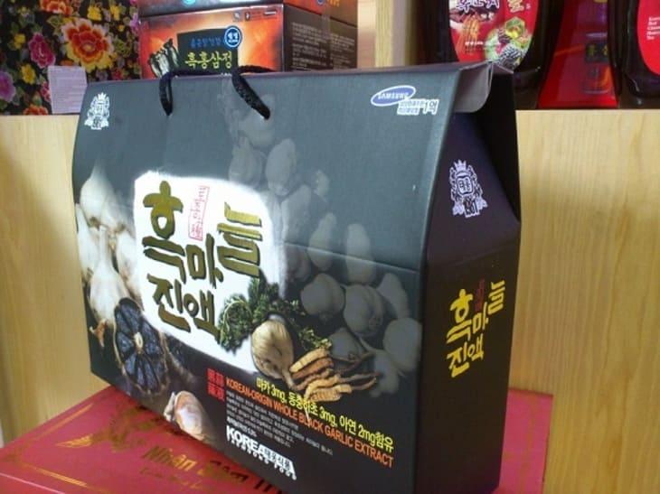 Bao bì sản phẩm Taewoong đang phân phối trên thị trường các nước