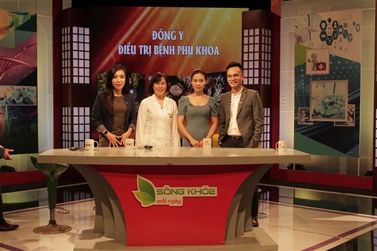 Bác sĩ Đỗ Thanh Hà xuất hiện trong chương trình Sống khoẻ mỗi ngày