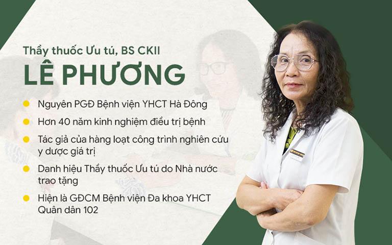 Bác sĩ Lê Phương từng nắm giữ nhiều chức vụ quan trọng
