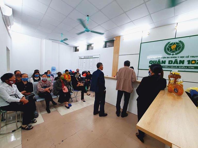 Tổ hợp y tế Quân dân 102 là địa chỉ khám chữa bệnh kết hợp Đông - Tây y hàng đầu hiện nay
