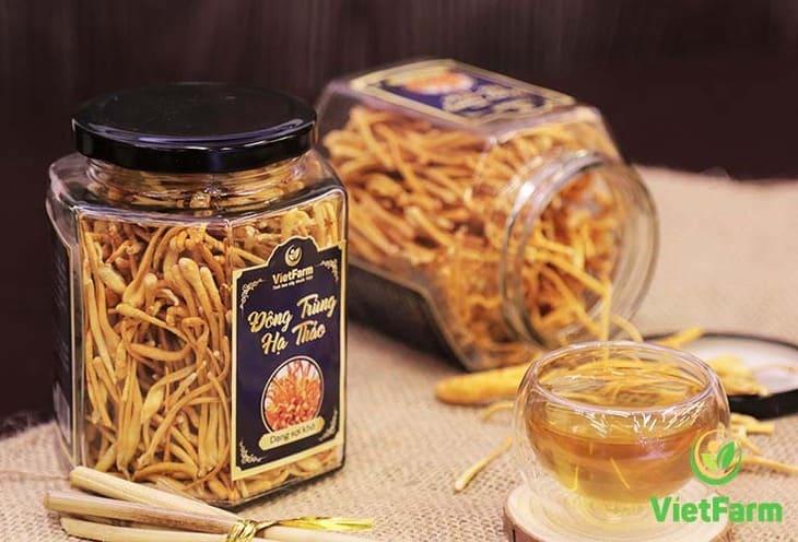 Sản phẩm của Vietfarm được đóng gói tiêu chuẩn, có tem mác