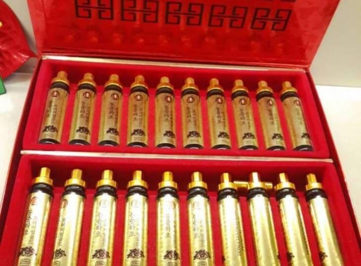 Tinh chất đông trùng hộp đỏ 20 ống sang trọng