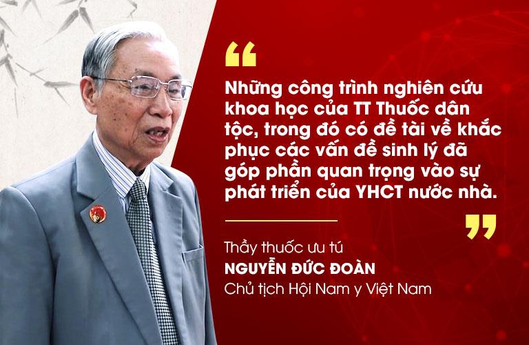 Thầy thuốc ưu tú Nguyễn Đức Đoàn