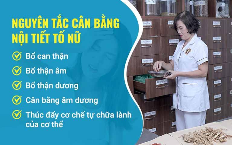 Nguyên tắc cân bằng nội tiết tố nữ trong bài thuốc của bác sĩ Đỗ Thanh Hà