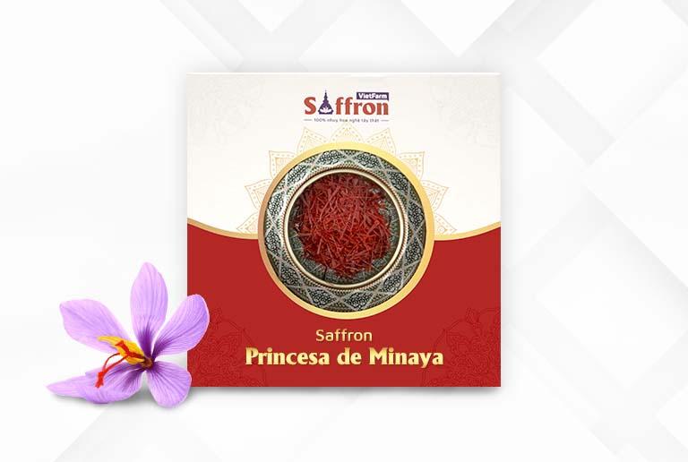 Princesa de Minaya - Nàng công nương Saffron kiêu hãnh nhất thế giới do Vietfarm phân phối