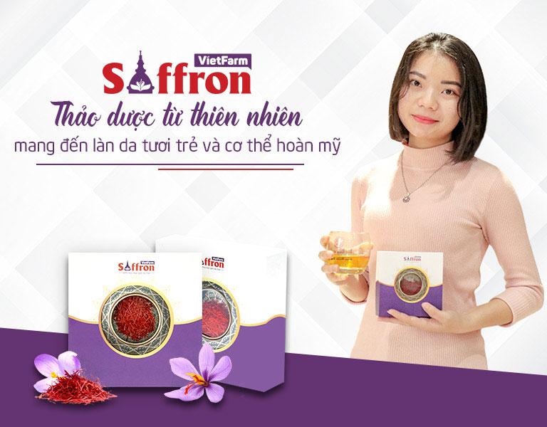Chị Thanh Ngân khách hàng thân thiêt của Saffron Vietfarm