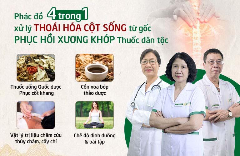 Phác đồ xử lý bệnh xương khớp chuyên sâu của Trung tâm Thuốc dân tộc
