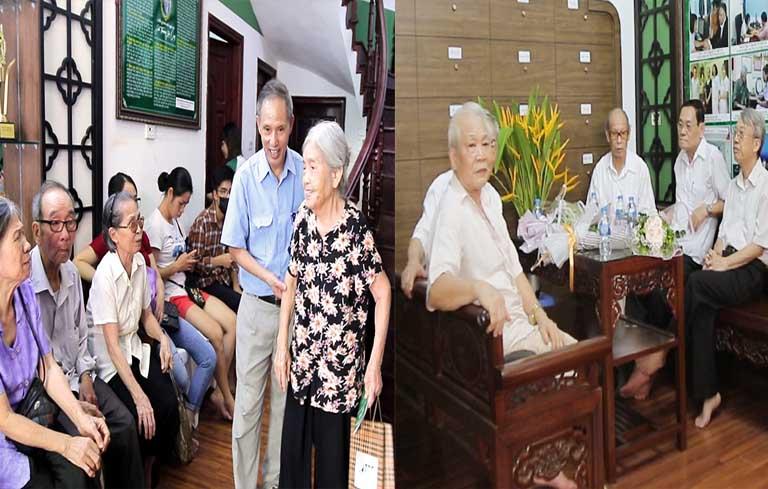 Hình ảnh người bệnh đến thăm khám tại Trung tâm Thuốc dân tộc
